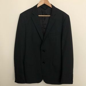 ZARA Black suit jacket and pants - both size 42reg